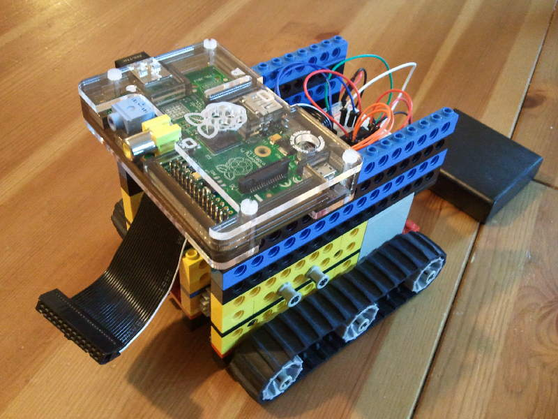 How to Make a Raspberry Pi Lego Robot: Part 1 - Andrew Oakley