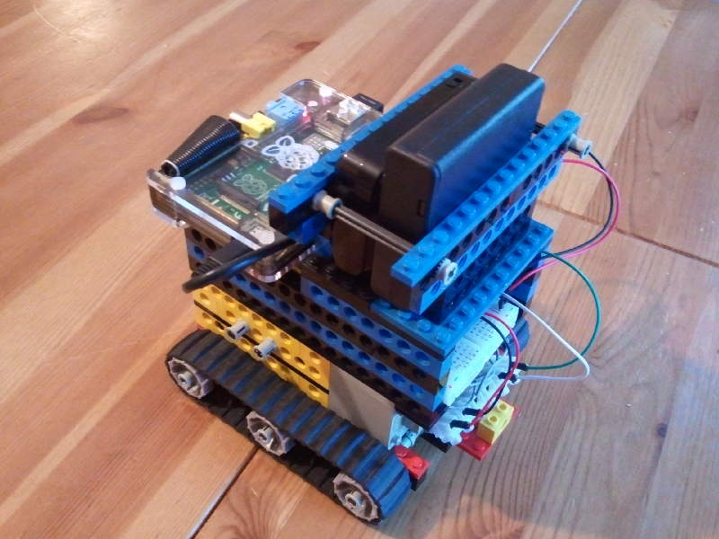 how to make a simple walking robot with one motor