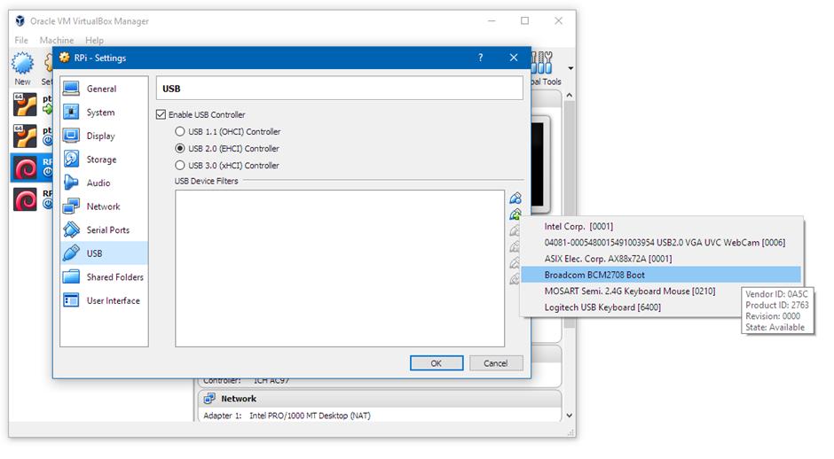 Using a Raspberry Pi Zero's GPIO pins on a Raspbian x86