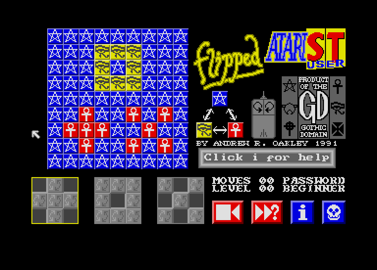 Atari ST Games & Software by Andrew Oakley - Andrew Oakley